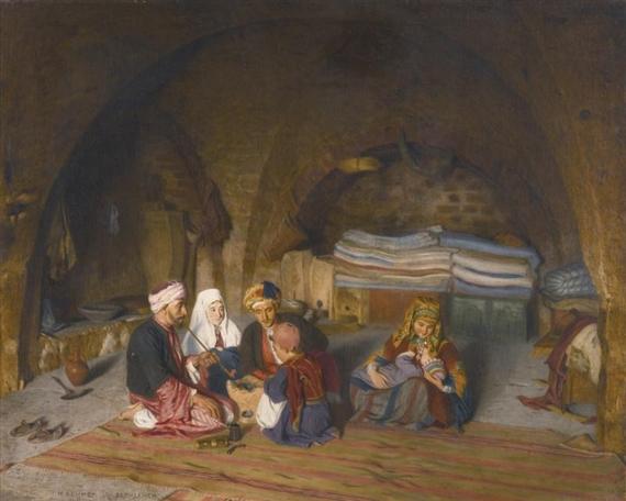 EINE FAMILIE IN BETHLEHEM (A FAMILY IN BETHLEHEM) - Hermann Behmer