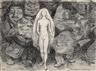 Erik Werenskiold, Naken kvinne og menn som troll