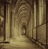 Roger Fenton, The South Aisle, Salisbury Cathedral