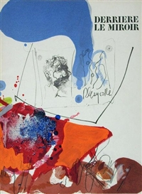 Artwork by Paul Rebeyrolle, 2 Ausgaben Derriere le Miroir, Made of colour lithographs