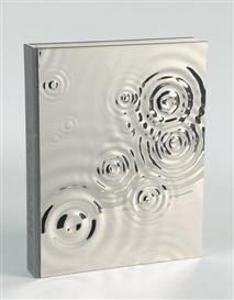 Artwork by Olafur Eliasson, Book. Olafur Eliasson, Philip Ursprung. Studio Olafur Eliasson, An Encyclopedia, Made of high gloss polished steel