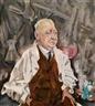 Max Oppenheimer, Portrait of Prof. Dr. Martin Hahn