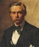 Peder Severin Krøyer, Portrait of P. S. Krøyer's Half Brother and Cousin Vilhelm Born 1844