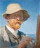 Peder Severin Krøyer, Self portrait