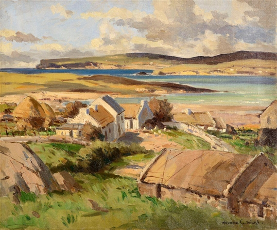 Maurice Canning Wilks Bloody Foreland Cottages