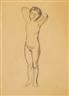 Karl Oscar Isakson, Study, model