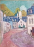 Emile Bernard, La Rue Rose À Pont-aven