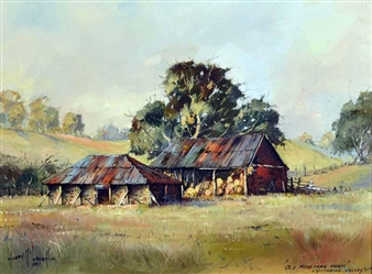 Old Hudstone Farm, Chittering Valley, WA By Henry Mclaughlin ,1977