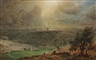 Frederic Edwin Church, Study for Jerusalem
