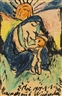 Max Pechstein, Mutter mit Kind