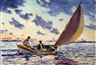 John Whorf, Sailing on the Open Sea