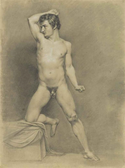 French nude men