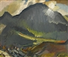 David Bomberg, MOONLIGHT, BEDDEGELERT