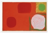 Patrick Heron, RED PAINTING WITH EMERALD DISC