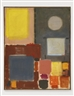 Patrick Heron, GREY AND YELLOW (WITH CIRCLE)