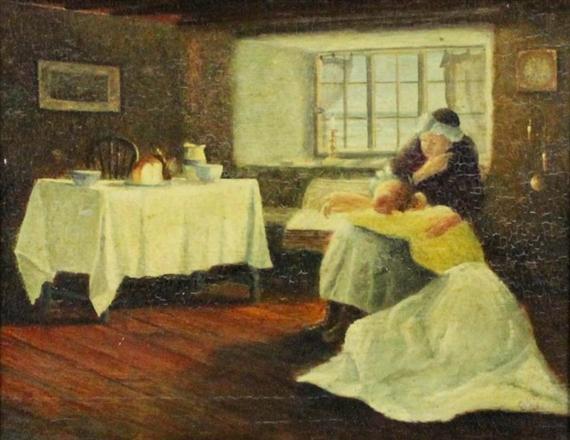 artworks of frank bramley british 1857 1915