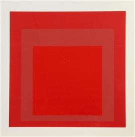 Artwork by Josef Albers, SP V (D.175.5), Made of screenprint in colours