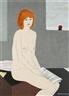 Arnošt Paderlík, Nude Girl Sitting