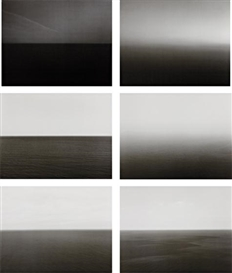 Artwork by Hiroshi Sugimoto, 51 works: Time Exposed, Made of offset lithographs, on laid paper