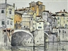 Julius Delbos, Ponte Vecchio Firenze