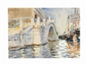 John Singer Sargent, A Bridge in Venice
