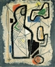 Aharon Kahana, Abstract figures