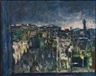 Mordecai Ardon, JERUSALEM AT NIGHT