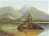 Ludwig Muninger, Berchtesgaden Alpine Lake Scene