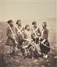 Roger Fenton, Ismail Pasha & Attendants, 1855