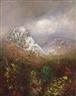 László Mednyánszky, Snowy mountain peak