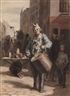 Daumier's paintings show he is at heart a sculptor