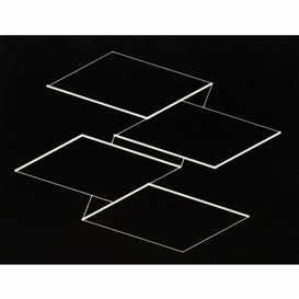 Artwork by Josef Albers, Strukturale Konstellation, Made of Gravure