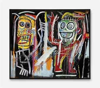 Jean-Michel Basquiat, Dustheads, 1982, Courtesy Christie's Auction House,