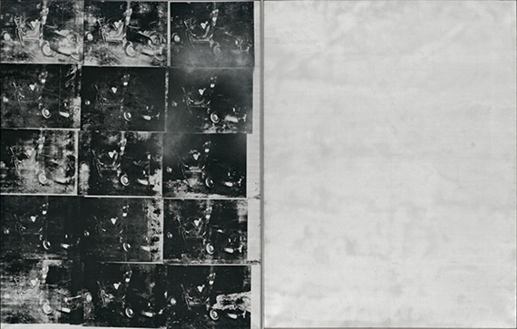 Andy Warhol, Silver Car Crash (Double Disaster), 1963, Courtesy Sotheby's Auction House