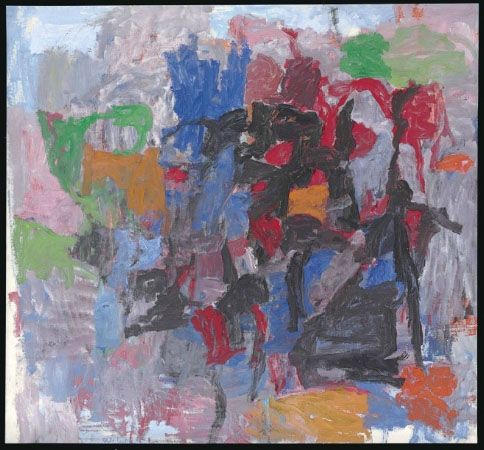 Philip Guston, To Fellini, 1958. Courtesy of Christie's Auction House.