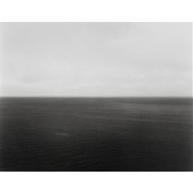 Artwork by Hiroshi Sugimoto, North Sea, Berriedale, Made of Gelatin silver print
