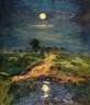 Isaac Levitan, Landscape in the Moonlight