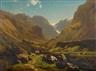Joachim Frich, Mountain landscape