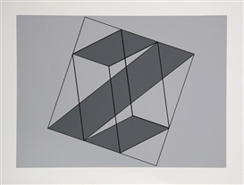 Artwork by Josef Albers, Untitled, Made of Silkscreen