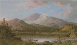 Artwork by Robert S. Duncanson, Mount Orford