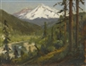 William Keith, Snow Capped Mountains