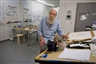In the studio: Lawrence Weiner, artist