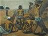 Emile Bernard, LES FELLAHS (LES TERRASSIERS ÉGYPTIENS; TRAVAILLEURS ARABES; TRAVAILLEURS PRÈS DU NIL)
