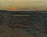 Charles Warren Eaton, Sunset in New England