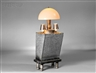 R.M. Fischer, Three-light Table Lamp