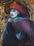 Sylvia Pardo, Portrait of Helen Bast aka Casco Rojo