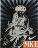 Wang Guangyi, 2 works; GREAT CRITICISM SERIES: NIKE