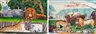 Robert Amft, 2 works; Peaceable Kingdom and Riverside