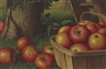 Levi Prentice, Still Life with Apples, Ladder and Tree