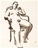 David Park, Seated Figure in Chair